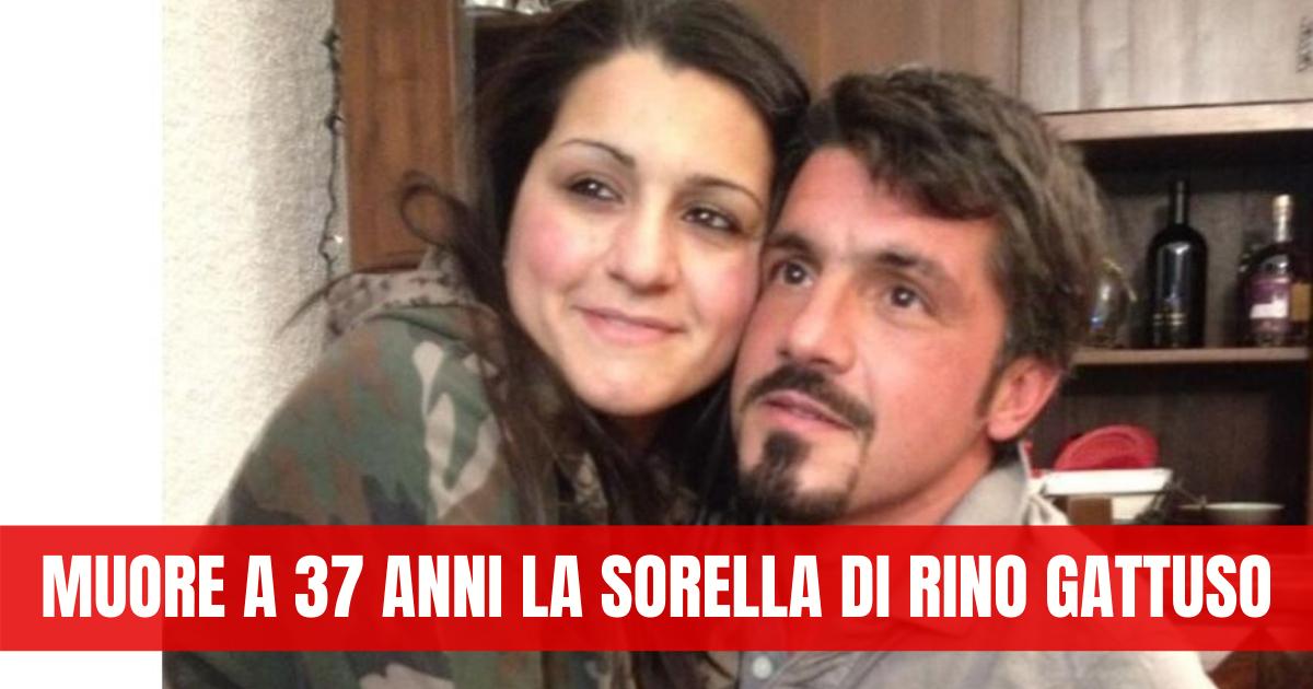 Gattuso, dramma in famiglia: morta la sorella del tecnico del Napoli
