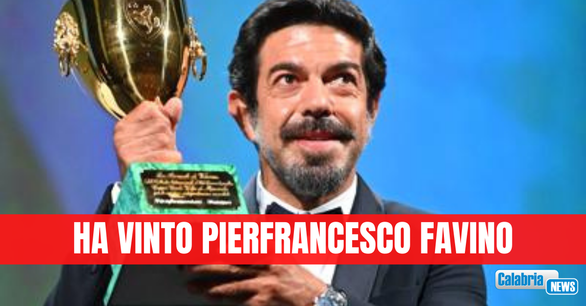 Venezia, Coppa Volpi a Pierfrancesco Favino