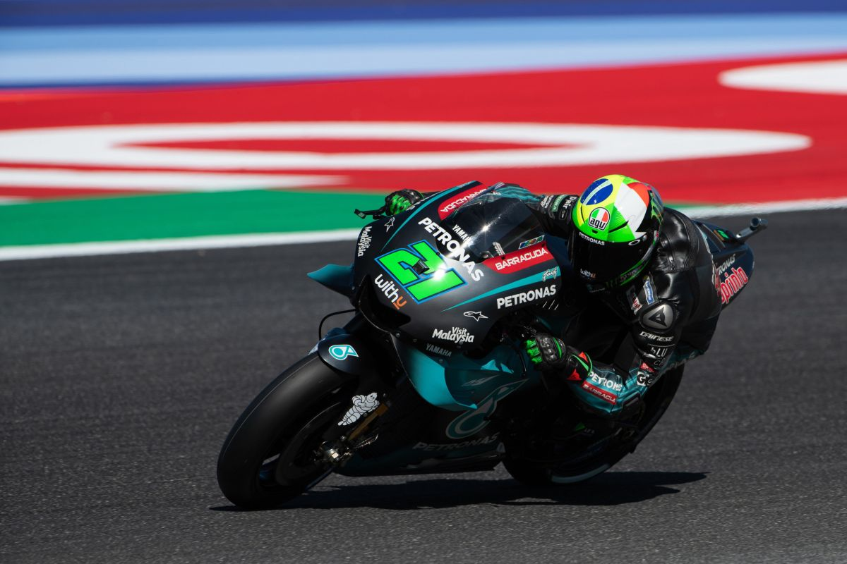 Moto: Portogallo; Rossi, a Portimao Yamaha bene nei test