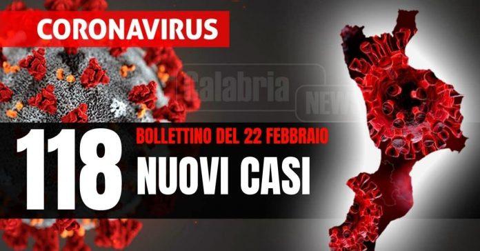 Bollettino Covid Calabria