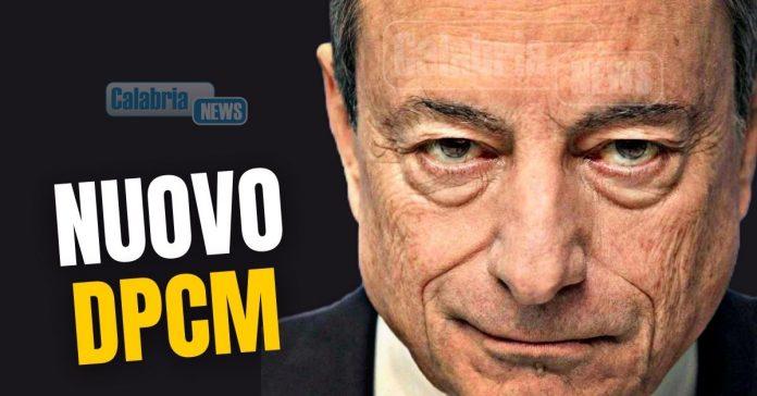 Draghi nuvo dpcm