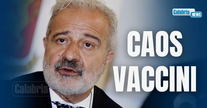 caos prenotazione vaccini calabria