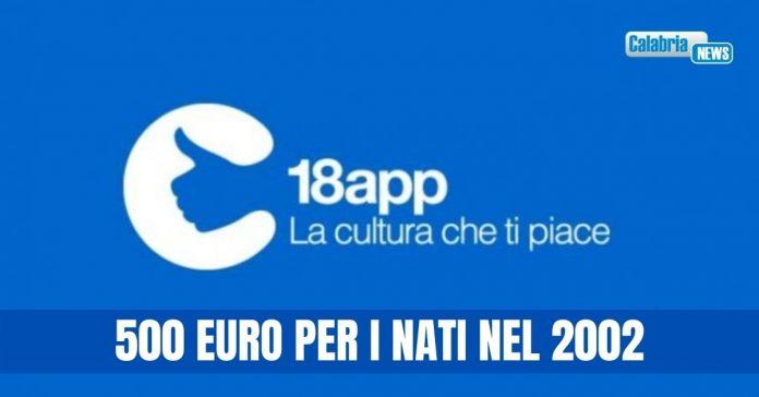 18 app bonus 500 euro