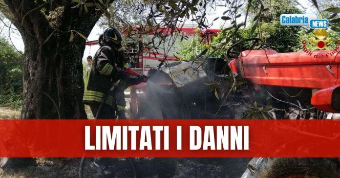 vigili del fuoco intervenuti a cessaniti