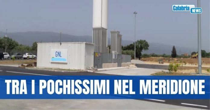 lamezia terme impianto GNL