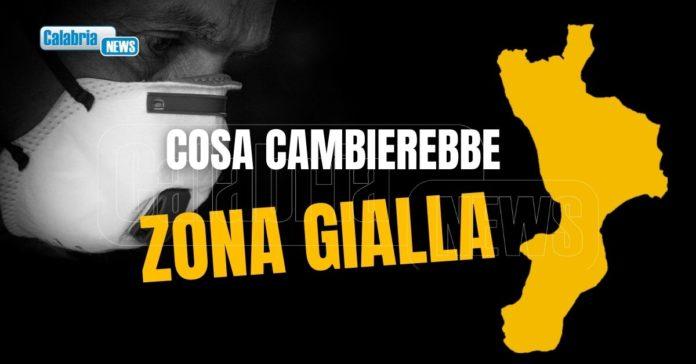 Calabria rischio gialla