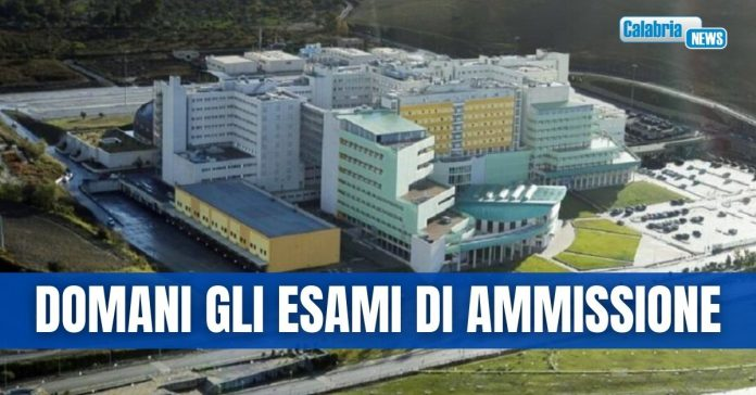 esami di ammissione professioni sanitarie a catanzaro