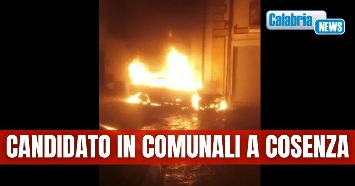 incendio auto Parise