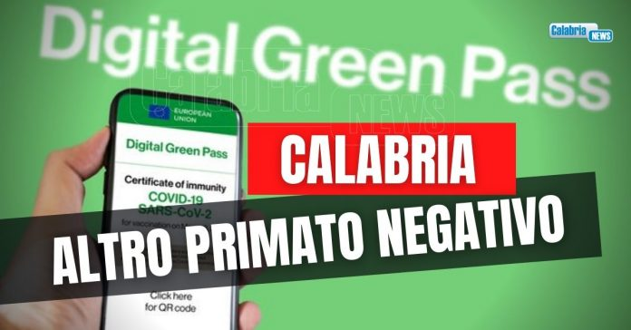 green pass calabria
